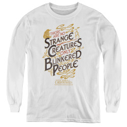 Image for Fantastic Beasts: the Crimes of Grindelwald Youth Long Sleeve T-Shirt - Blinkered People