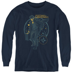 Image for Fantastic Beasts: the Crimes of Grindelwald Youth Long Sleeve T-Shirt - Suitcase
