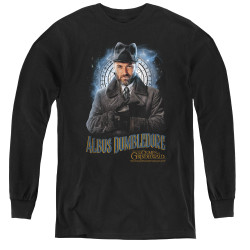 Image for Fantastic Beasts: the Crimes of Grindelwald Youth Long Sleeve T-Shirt - Dumbledore