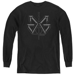 Image for Fantastic Beasts: the Crimes of Grindelwald Youth Long Sleeve T-Shirt - Grindelwald Sigil