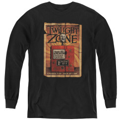 Image for The Twilight Zone Youth Long Sleeve T-Shirt - Seer