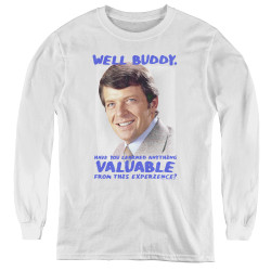 Image for The Brady Bunch Youth Long Sleeve T-Shirt - Buddy