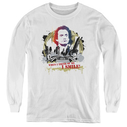 Image for Taxi Youth Long Sleeve T-Shirt - Smiling Jim