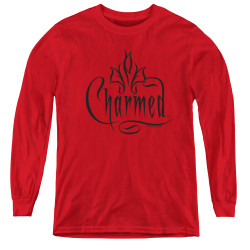 Image for Charmed Youth Long Sleeve T-Shirt - Logo
