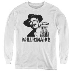 Image for The Beverly Hillbillies Youth Long Sleeve T-Shirt - Millionaire
