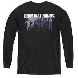 Image for Criminal Minds Youth Long Sleeve T-Shirt - Season 10 Cast
