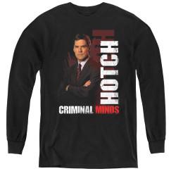 Image for Criminal Minds Youth Long Sleeve T-Shirt - Hotch
