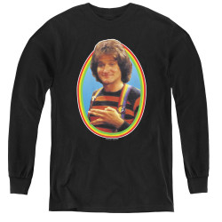 Image for Mork & Mindy Youth Long Sleeve T-Shirt - Mork
