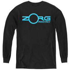 Image for The Fifth Element Youth Long Sleeve T-Shirt - Zorg Logo