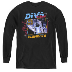 Image for The Fifth Element Youth Long Sleeve T-Shirt - Diva