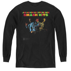Image for Jimi Hendrix Youth Long Sleeve T-Shirt - Smash Hits