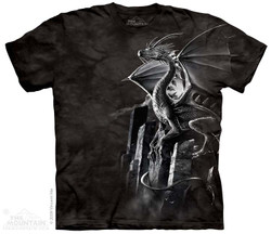 Image for The Mountain T-Shirt - Silver Dragon