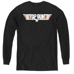 Image for Top Gun Youth Long Sleeve T-Shirt - Logo