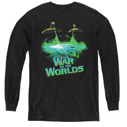 Image for War of the Worlds Youth Long Sleeve T-Shirt - Global Attack