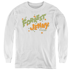 Image for Forrest Gump Youth Long Sleeve T-Shirt - Peas and Carrots