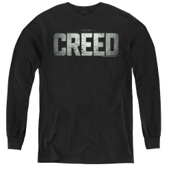 Image for Creed Youth Long Sleeve T-Shirt - Logo