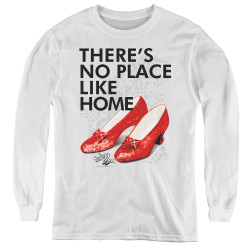 Image for The Wizard of Oz Youth Long Sleeve T-Shirt - No Place Like Home