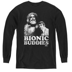 Image for Bionic Woman Youth Long Sleeve T-Shirt - Bionic Buddies