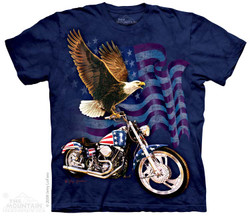 Image for The Mountain T-Shirt - Born to Ride