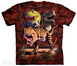 Image for The Mountain T-Shirt - Rex Collage