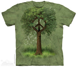Image for The Mountain T-Shirt - Roots of Peace