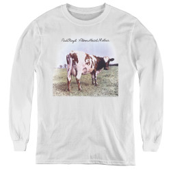 Image for Pink Floyd Youth Long Sleeve T-Shirt - Atom Heart Mother
