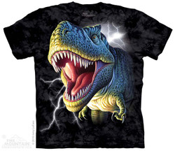 Image for The Mountain T-Shirt - Lightning Rex