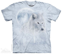 Image for The Mountain T-Shirt - White Wolf Moon