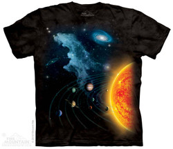 Image for The Mountain T-Shirt - Solar System