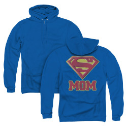 Image for Superman Zip Up Back Print Hoodie - Super Mom