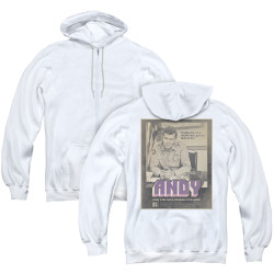 Image for Andy Griffith Show Zip Up Back Print Hoodie - Andy