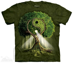 Image for The Mountain T-Shirt - Yin Yang Tree