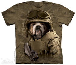 Image for The Mountain T-Shirt - Combat Sam