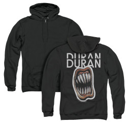 Image for Duran Duran Zip Up Back Print Hoodie - Pressure Off