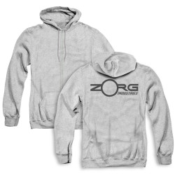 Image for The Fifth Element Zip Up Back Print Hoodie - Zorg Corporate Logo