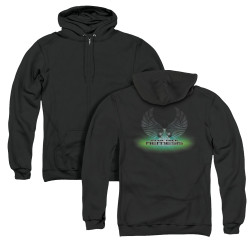 Image for Star Trek Zip Up Back Print Hoodie - Nemesis