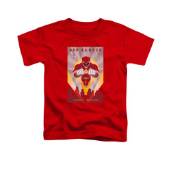 Image for Power Rangers Toddler T-Shirt - Red Ranger Decos