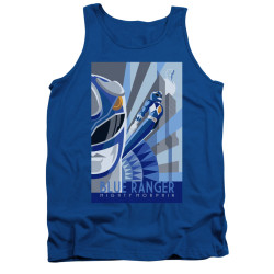 Image for Power Rangers Tank Top - Blue Ranger Deco