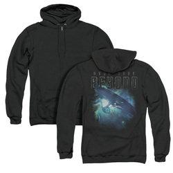 Image for Star Trek Beyond Zip Up Back Print Hoodie - Voyage