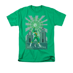 Image for Power Rangers T-Shirt - Green Ranger Deco