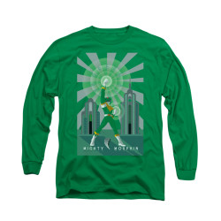 Image for Power Rangers Long Sleeve T-Shirt - Green Ranger Deco