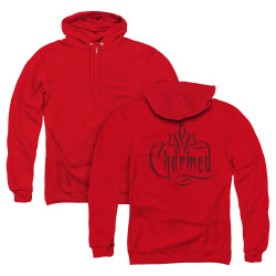 Image for Charmed Zip Up Back Print Hoodie - Logo