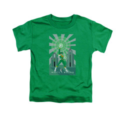 Image for Power Rangers Toddler T-Shirt - Green Ranger Decos