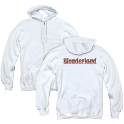 Image for Zenescope Zip Up Back Print Hoodie - Wonderland Logo