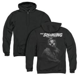 Image for The Shining Zip Up Back Print Hoodie - The Bear