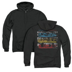 Image for The Police Zip Up Back Print Hoodie - Syncronicity