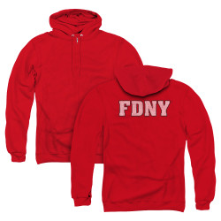 Image for New York City Zip Up Back Print Hoodie - FDNY