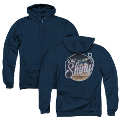 Image for Firefly Zip Up Back Print Hoodie - Stay Shiny