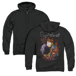 Image for Syd Barrett Zip Up Back Print Hoodie - Madcap Syd