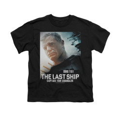 Image for The Last Ship Youth T-Shirt - Captain